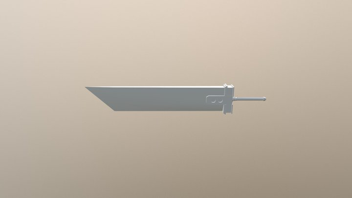 Espada final fantasy 3D Model