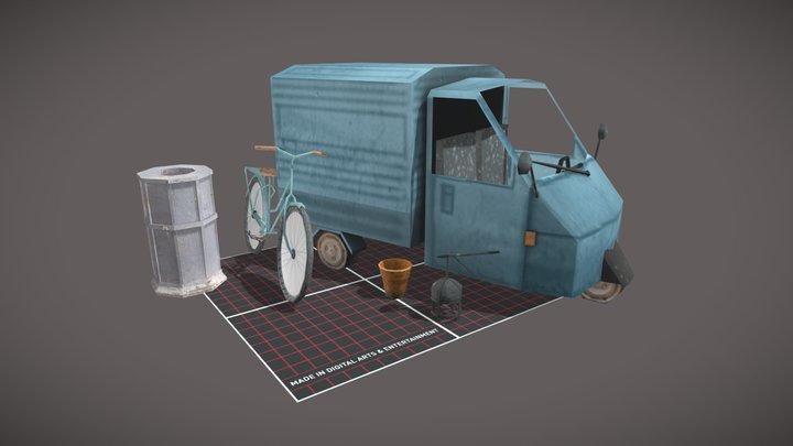 1DAE12_Bonjé_Rebecca_PropsScene 3D Model