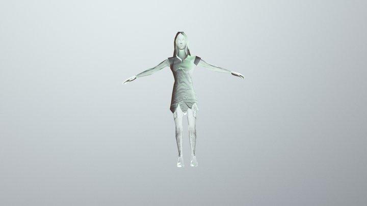 Witch Poe 3d 3D Model
