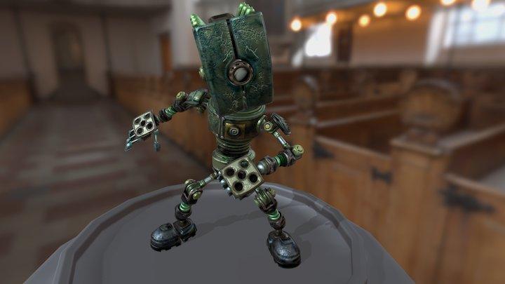 Low_skill_Texturing_robot 3D Model