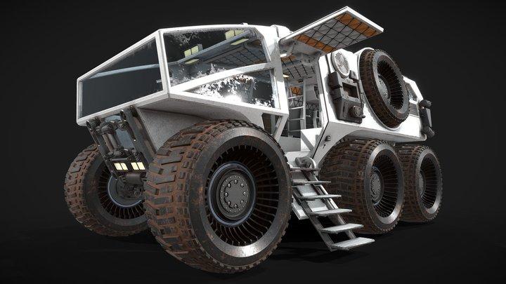 Mars car 3D Model