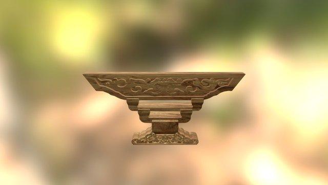 搁架斗拱 3D Model