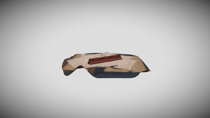Listel y Perlas 3D Model