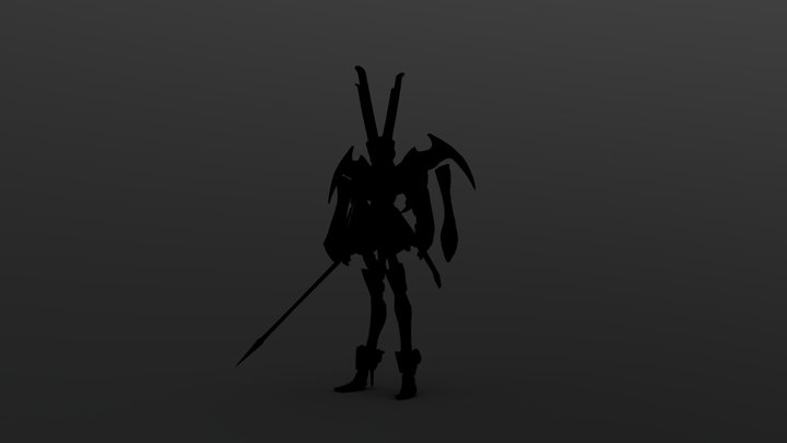 The Empress test 3D Model
