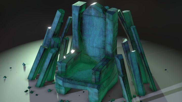 crystal throne 3D Model
