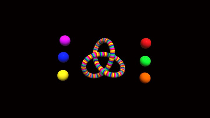 Knotslicesanimation4chrome2 3D Model