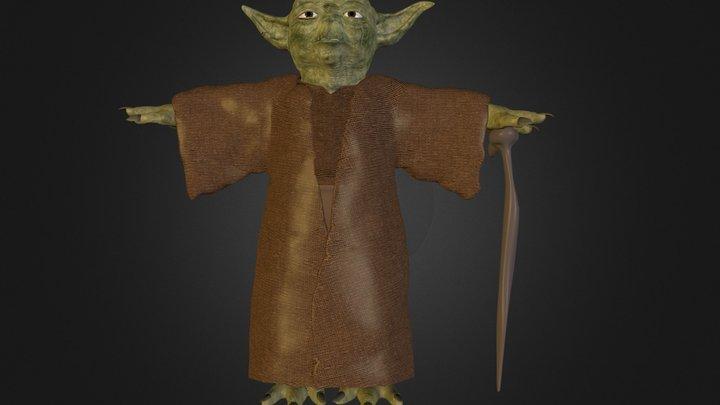Master Yoda.zip 3D Model