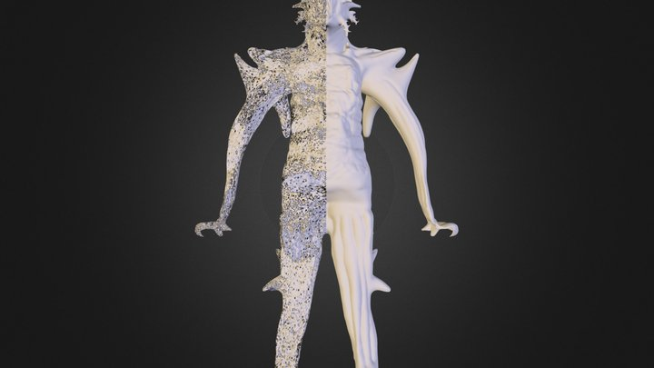 Project #4:Creature/Character Creation with Scul 3D Model