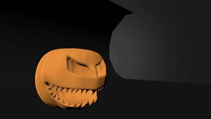 Pumpking1.blend 3D Model
