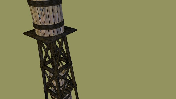 watertower101 3D Model