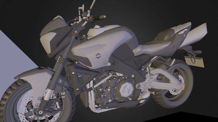 Bike.blend 3D Model
