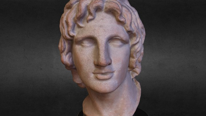 Example: Alexander the Great from British Museum 3D Model
