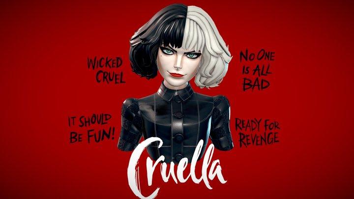 Cruella 3D Model