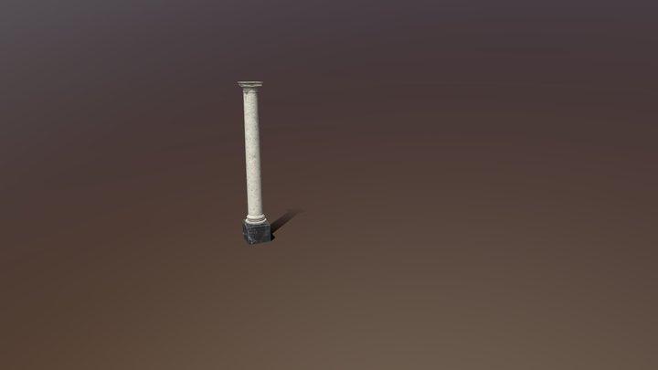 Column Simple 3D Model