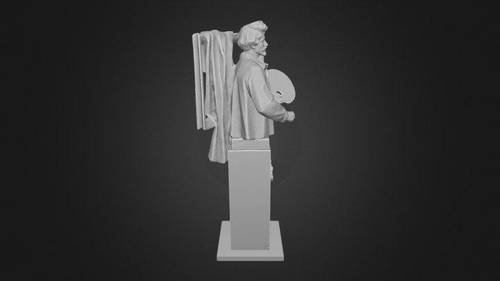 Илья Ефимович Репин 3D Model