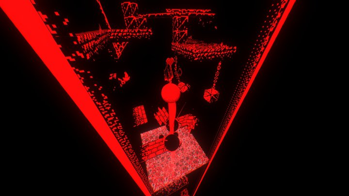 Hey, where is my buddy? (VirtualBoy) 3D Model