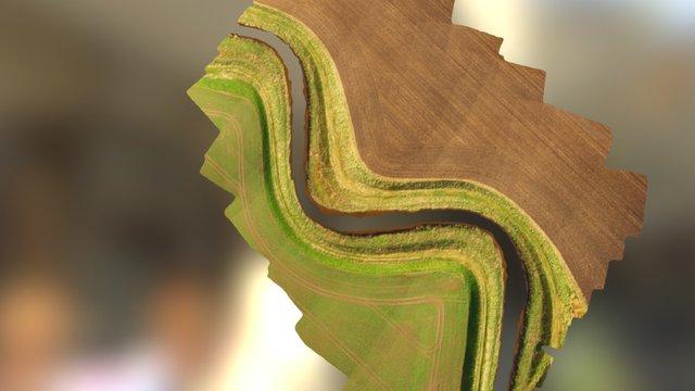 River_Alt_Simplified 3d Mesh 3D Model