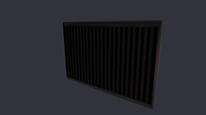 Calentador 3D Model