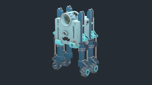 Robot learning 3D Model