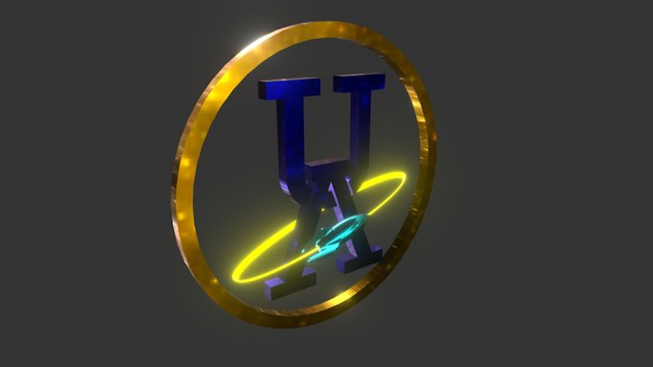 Logo Coin 3D Model