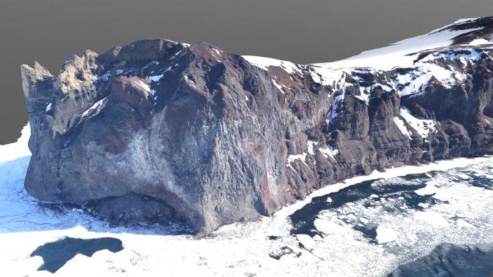 Cape Washington, Antarctica 3D Model
