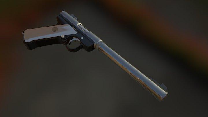 Ruger Fbx 3D Model