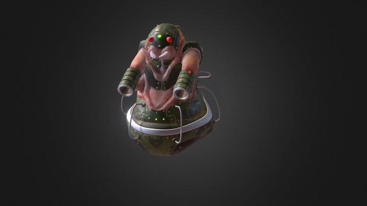 Hyper Fatbug (Reskin) 3D Model