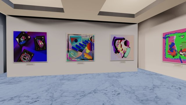 Instamuseum for @specialedition_co 3D Model