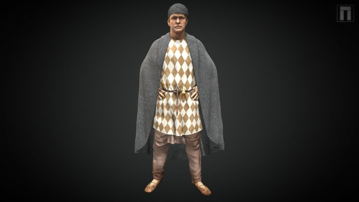 Sherford Early Bronze Age Man 3D Model
