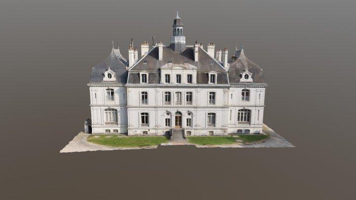 Chateau de la Briantais 3D Model