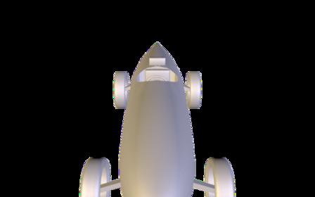 Bullet Car 3D Model