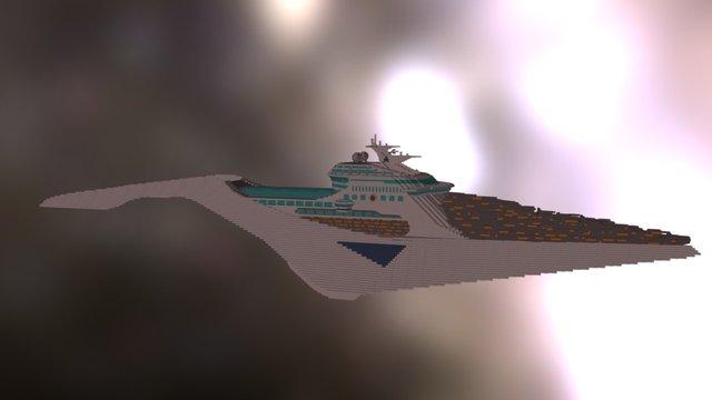 Cruiseship 3D Model