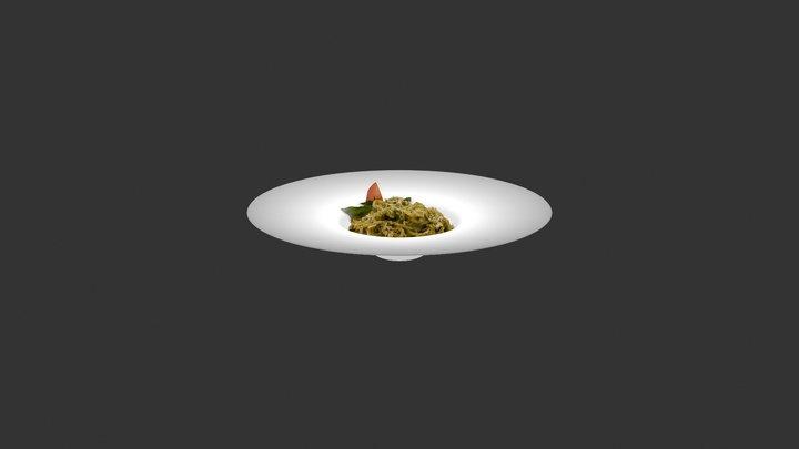 Pasta Pesto 3D Model