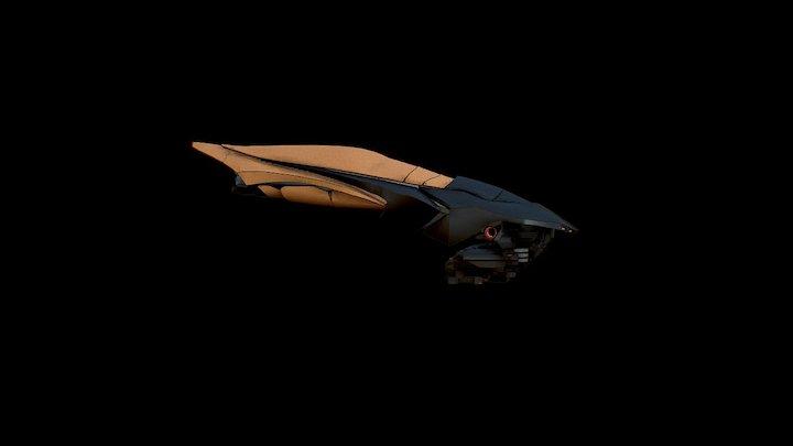 Viper -Alien Spaceship 3D Model