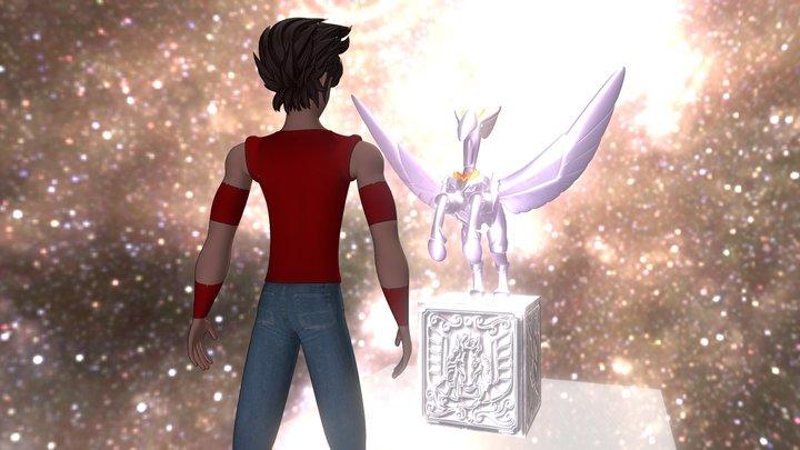 Pegasus Meditation (Saint Seiya tribute) 3D Model