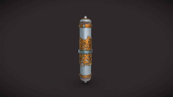 Scroll Holder 3D Model