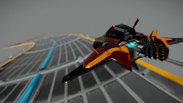 Hiper Speed Racer 3D Model