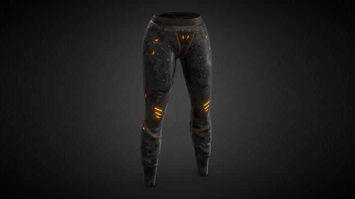 High Quality SCIFI Pants 3D Model