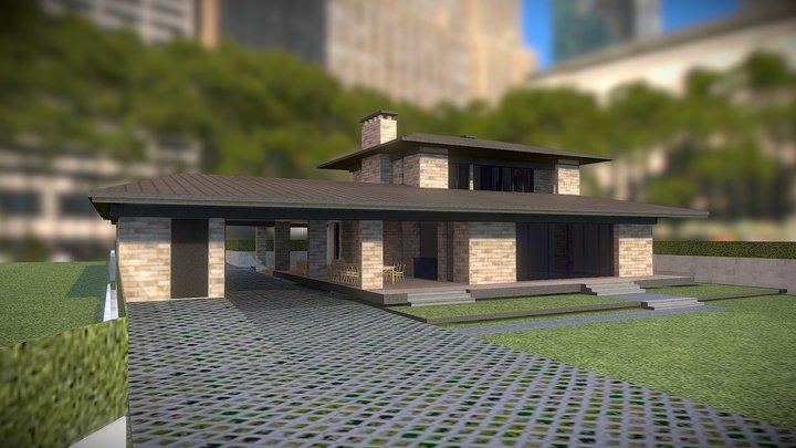house timur4 3D Model