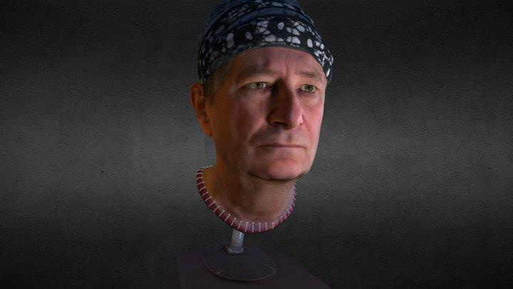 Dave's Head 3D Model