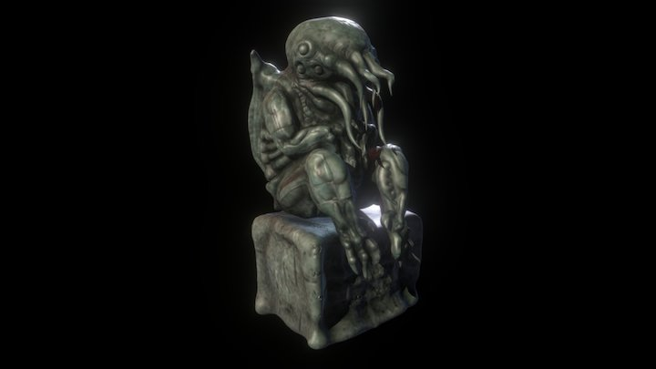Lovecraft's Cthulhu 3D Model