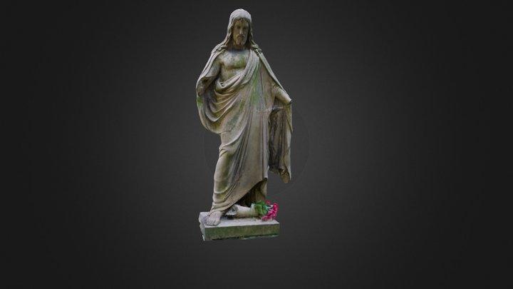 Tombstone, Jesus 3D Model
