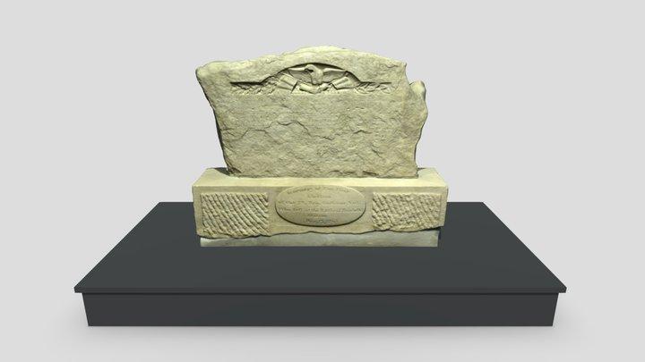 Oldest Surviving Civil War Monument 3D Model