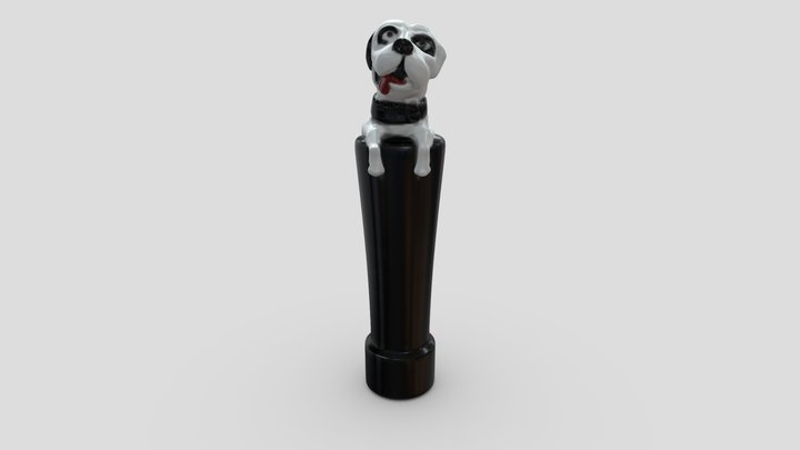 Lagunitas-Dog 3D Model