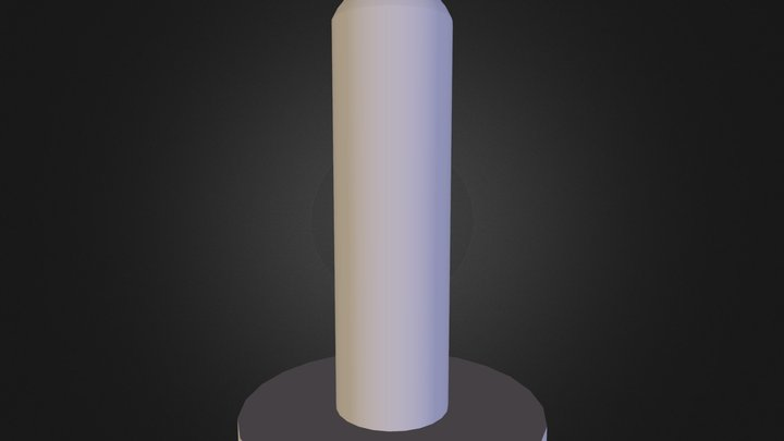 Night Stick Handle - LED Glow Stick 3D Model