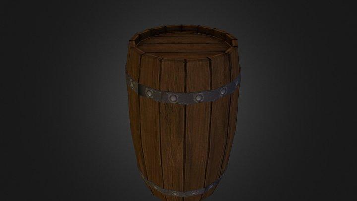 Obligatory barrel 3D Model