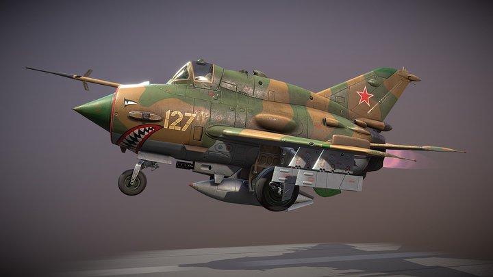 MiG-21 Chibi 3D Model