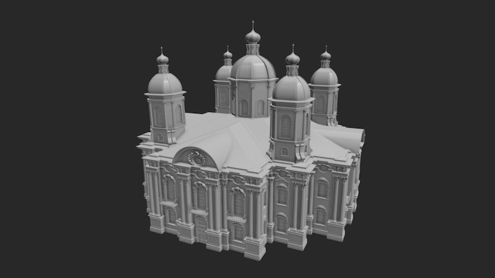 St. Nicholas Naval Cathedral 3D Model
