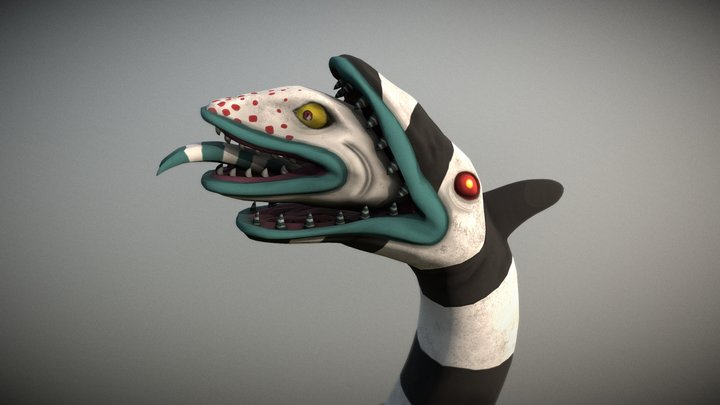 beetlejuice sandworm 3D Model