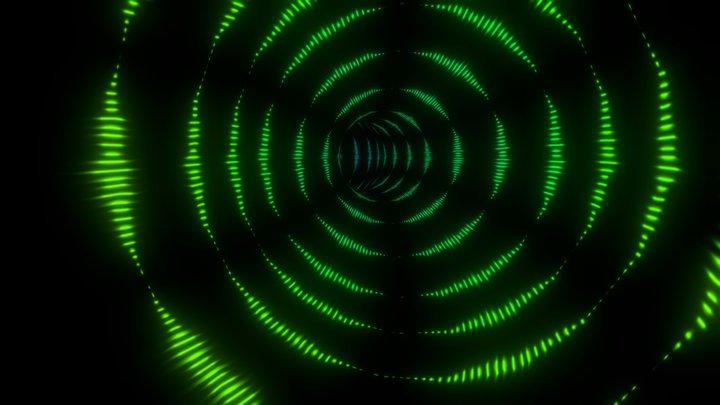 Trippy Tunnel v2 3D Model